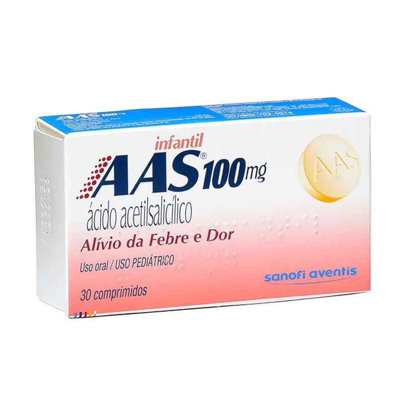 AAS 100MG C/30