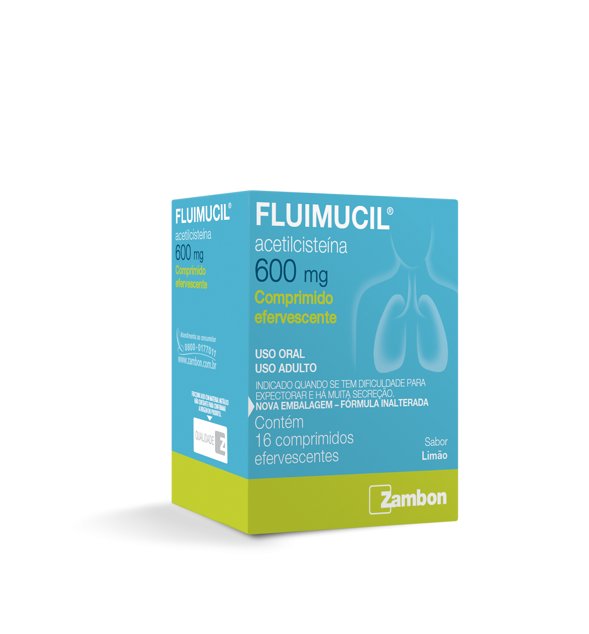 FLUIMUCIL 600MG C/16 CPR EFV