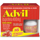 ADVIL 400MG C/16 EXTRA ALIVIO