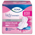 ABS GER TENA LADY DISCREET MINI PLUS C/8