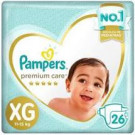 FR PAMPERS PREMIUM CARE XG C/26