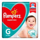 FR PAMPERS SUPERSEC PCTAO G C/26