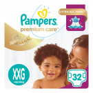 FR PAMPERS PREMIUM CARE XXG C/32